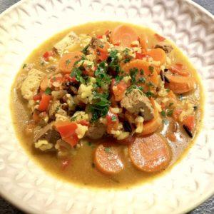 16938621 10211651368980955 40009190794487130 n 300x300 - Tofu-fou ! (mini-mijoté de tofu aux épices indiennes) tofu, riz, recette végétarienne, recette végétalienne, recette vegan, légumes, épices, carottes, bouillon