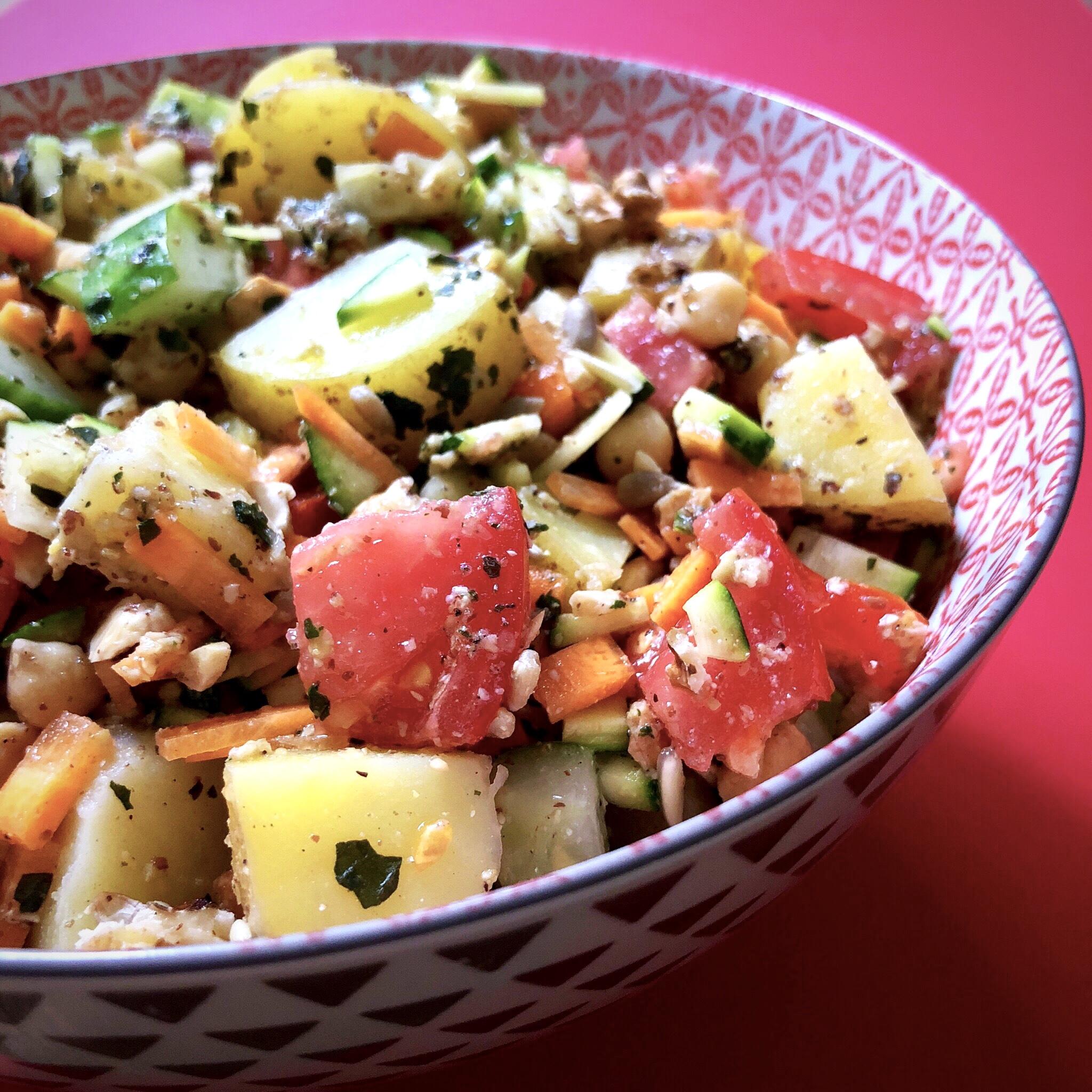 9AA98190 C7B6 4BFE 8BFA 19A9DE730EED - La petite salade d'été pour une grosse faim