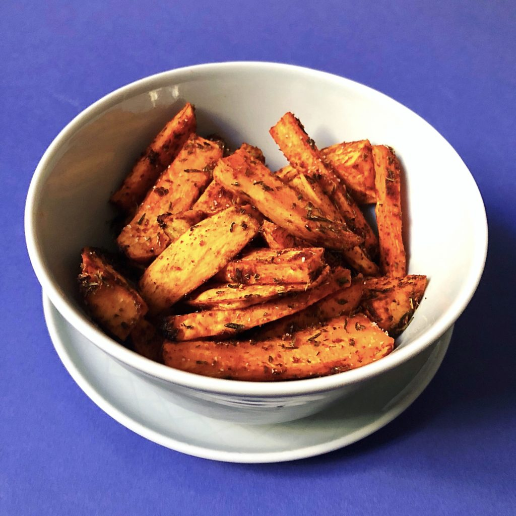 Good fries don't cry with a sweet sweet potato