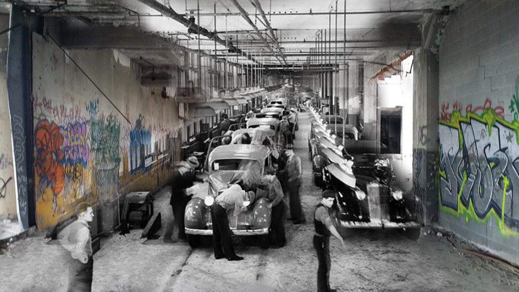 pure detroit - Les aventuriers de l'usine perdue