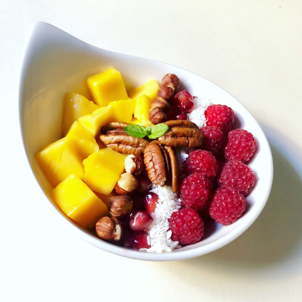 Happiness for breakfast or a snack with a Buddha bowl