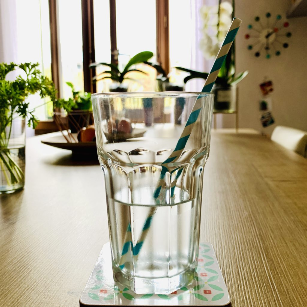 Pour ta santé, tu peux compter dessus et boire de l'eau fraîche.