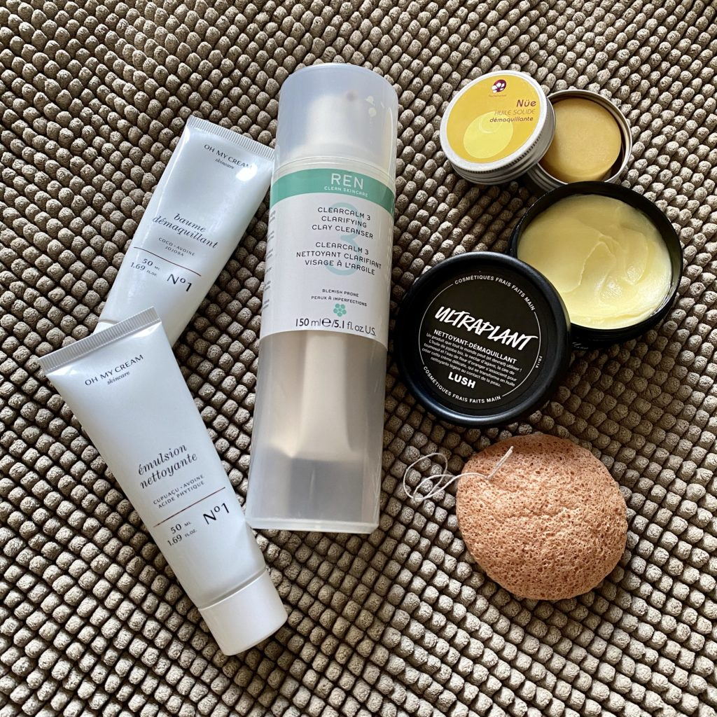 The evening skincare ritual