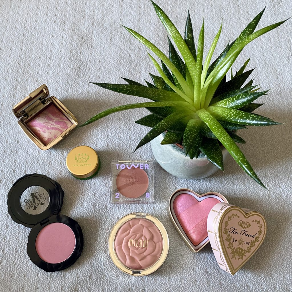 For the pinkest cheeks.