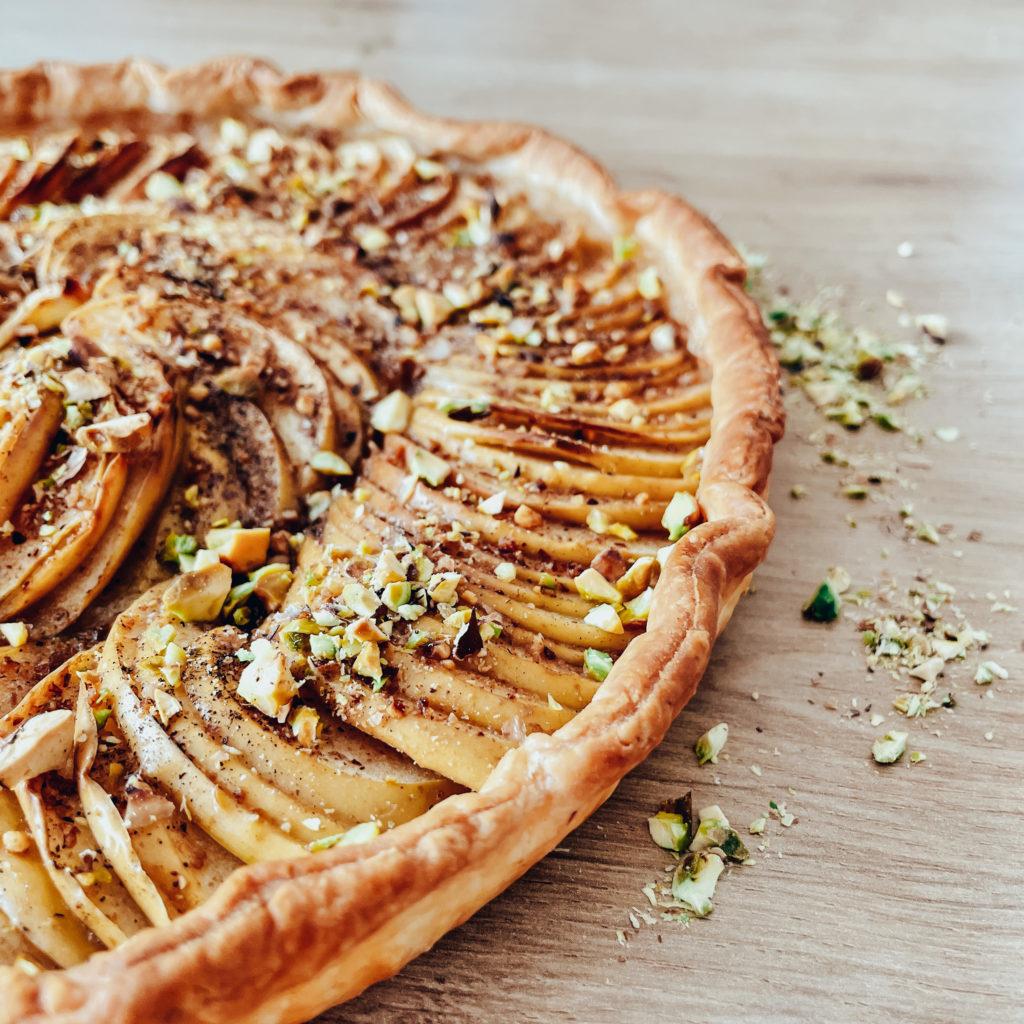 It's a pie, but it's a piece of cake.