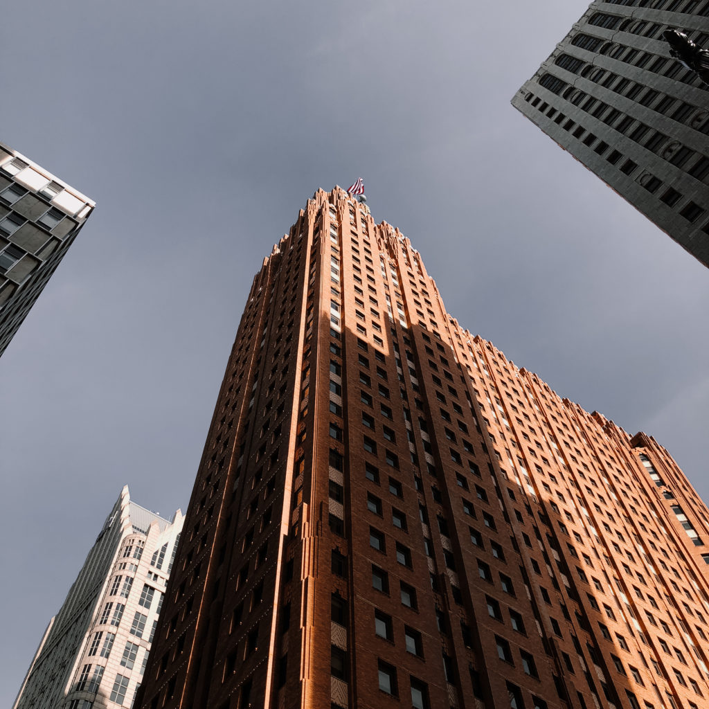 Le Guardian Building.