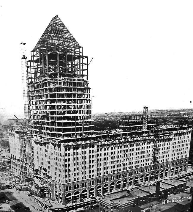 Fisherunderconstruction - The Fisher Building.
